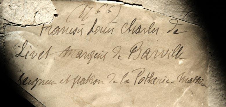 François louis de livet marquis de Barville 1
