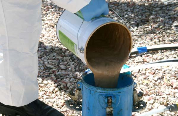 Biopalm remplissage pulvérisateur