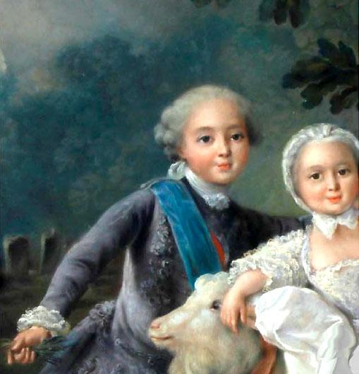 Louis-Ferdinand, dauphin  Philippe Louis duc d'Anjou copie