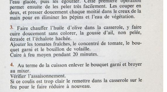 Sauce tomate Michel Gerard