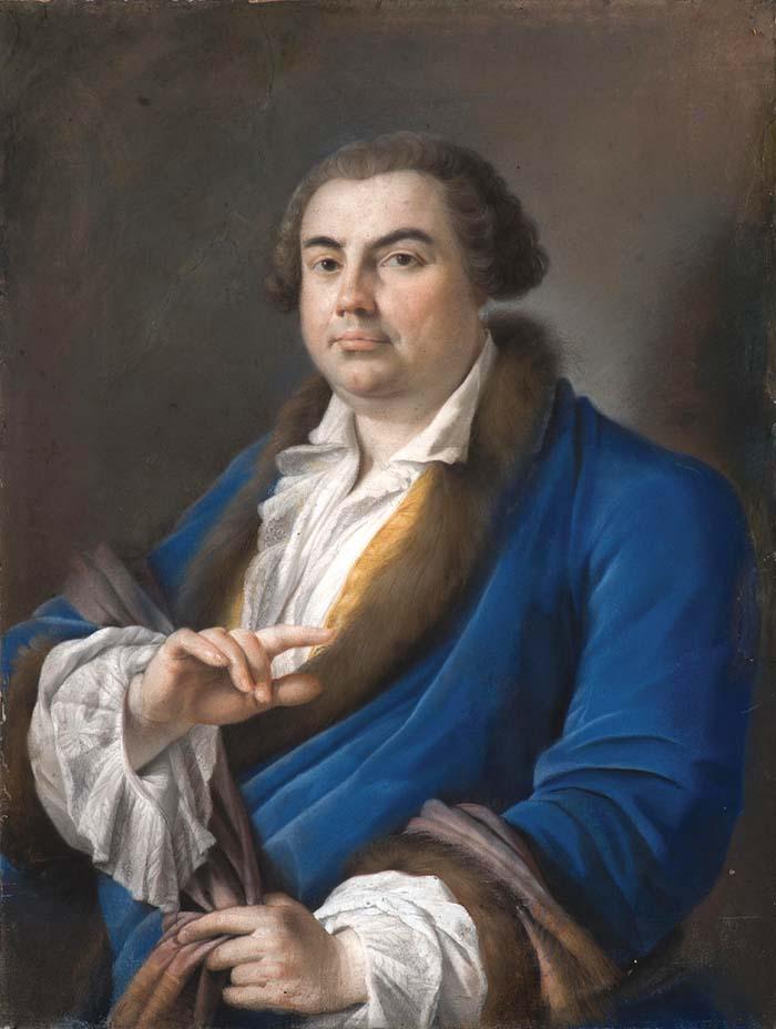 Giuseppe Baretti par Giovan Battista Cipriani