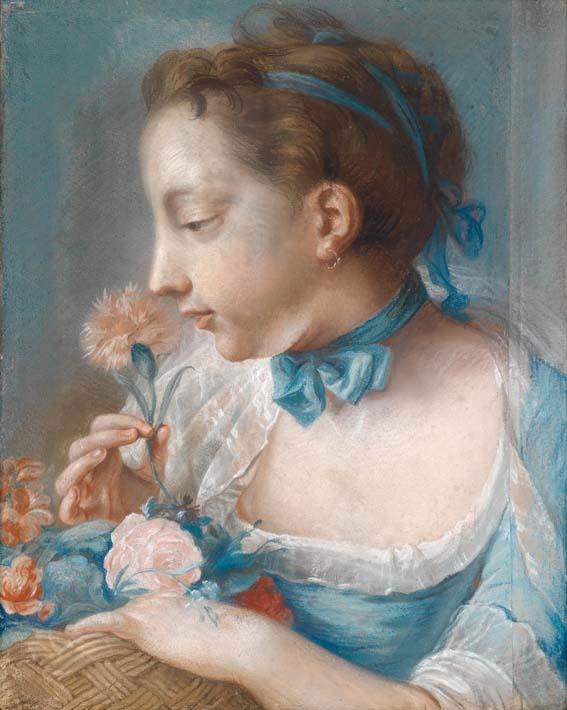 Wilhelmine Caroline Amalie  Tichbein 1764 par Johann Heinrich Tischbein