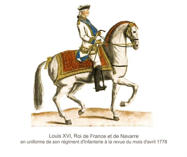 Louis XVI uniforme infanterie