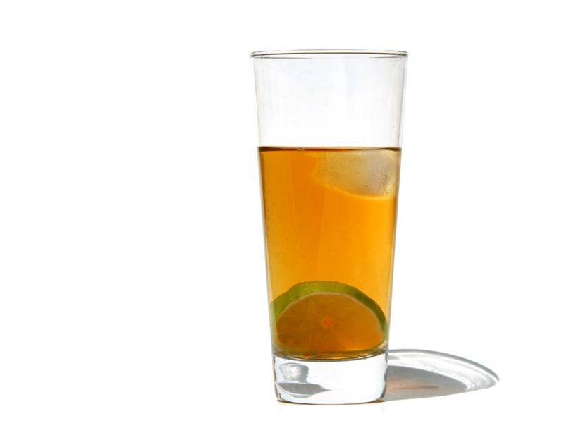 Tea cold thé froid