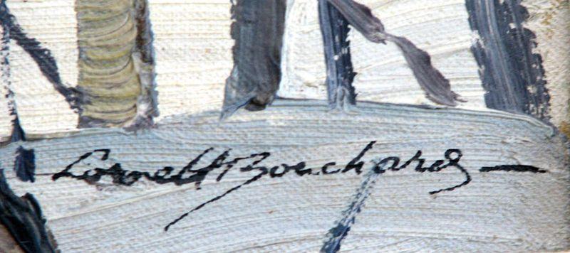 Lorne Holland Bouchard signature