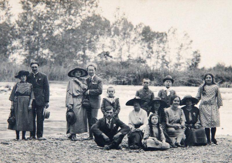 Bord de Seine Saint Mesmin 1923