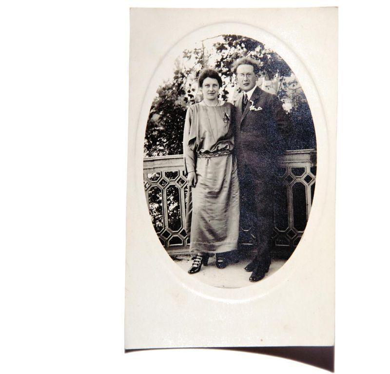 Odette et Lucien Brigand 1924