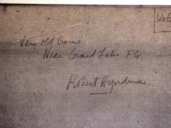 Robert Stewart Hyndman étiquette