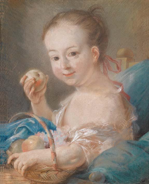 Wilhelmine Caroline Amalie  Tichbein en 1759 par Johann Heinrich Tischbein