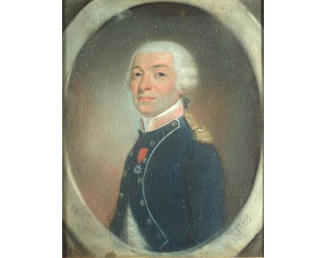 Joseph Antoine de Gallier par Jean-Pierre Grasson 1788