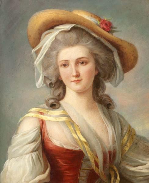Louise Vigée lebrun (à la manière de)