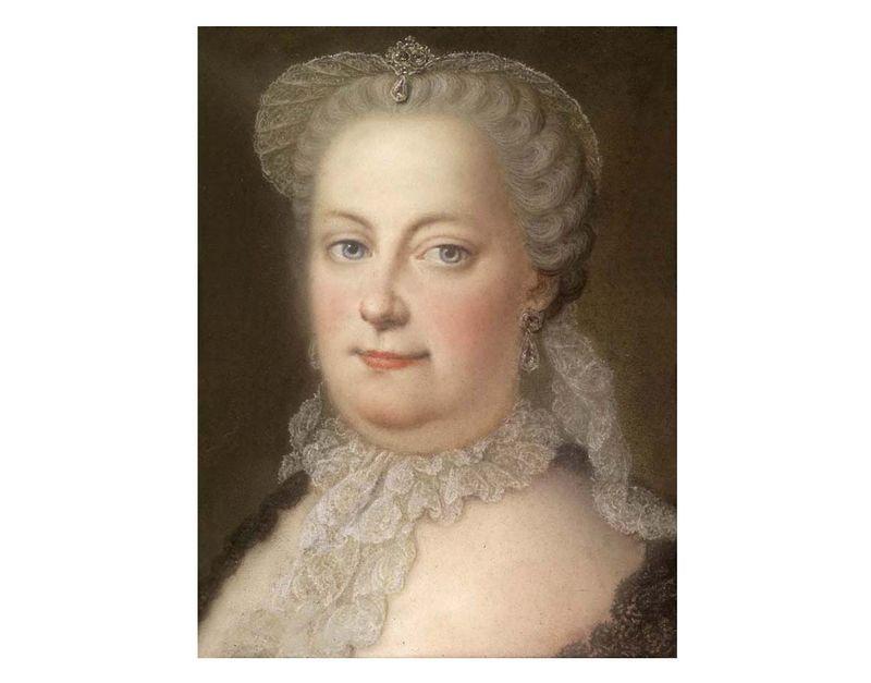 Marie Therese d'Autriche par Michael Christoph Hagelgans 1762