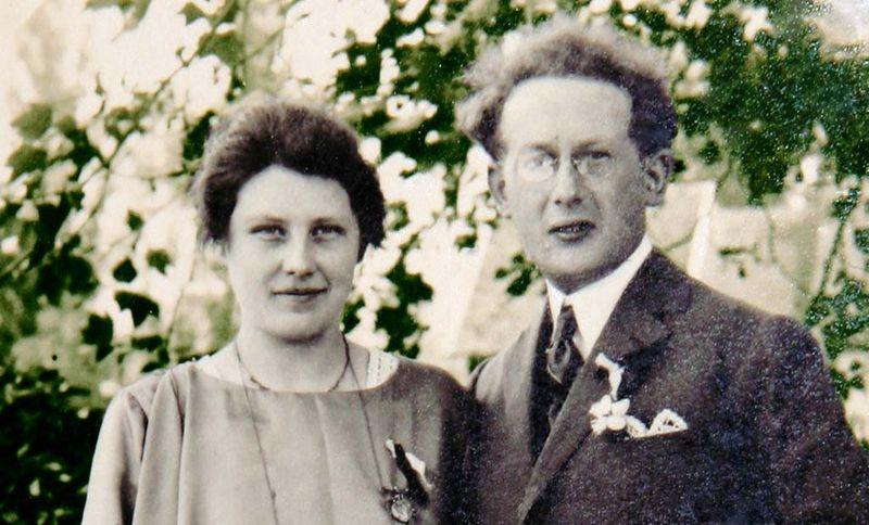 Odette et Lucien Brigand détail 1924