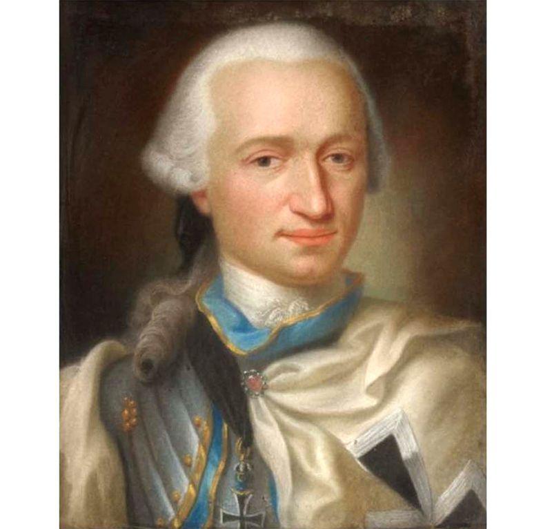 François Marie de Landsberg (1739-1820) Huin
