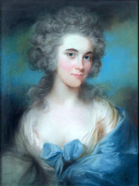 Margaret Harley (1766-1830) par John Russel