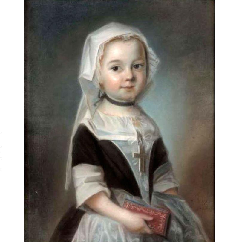 Charlotte Marguerite Elizabeth de Bourbon - Charolais, comtesse de Löwendal L. Vigée
