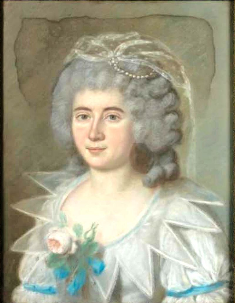 Maria Sophia Elisabeth von Emminghaus (Hagen 1733 - Vaals 1783), épouse de Johann Arnold von Clermont Monpeur