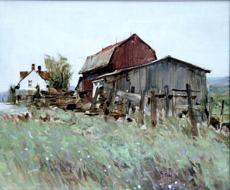 Couvert avec averses à Red Montain Stuart Main 1990