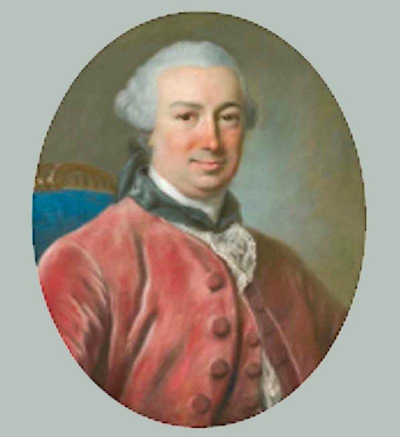 Théodore-Emmanuel-Joseph du Bois de Percheval par Bernard 1760