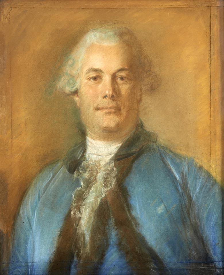 Gesné Montuy (1717-1759) par Perronneau