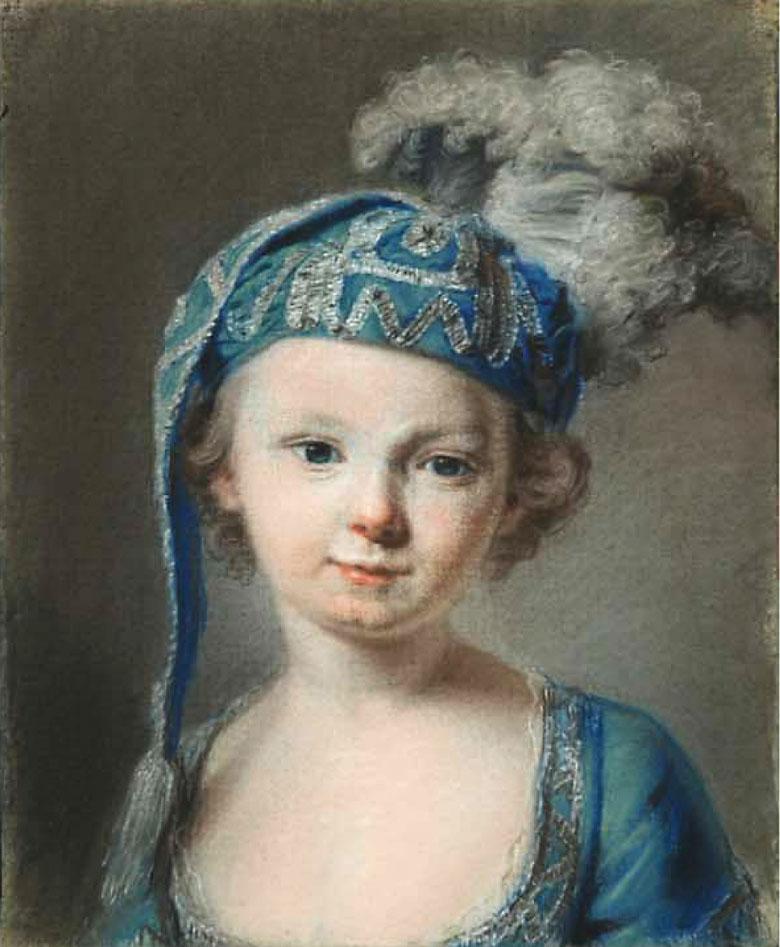 Louis XVI  enfant par François Drouais