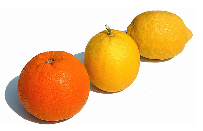Orange laranja-limao lemon