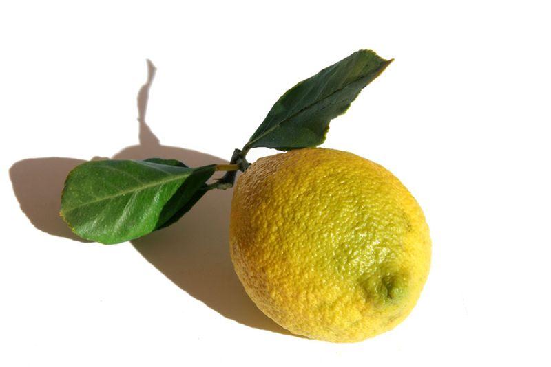 Limón cascarúo Malaga citron doux