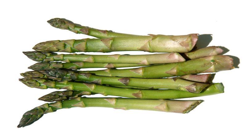 Green asparagus asperges vertes