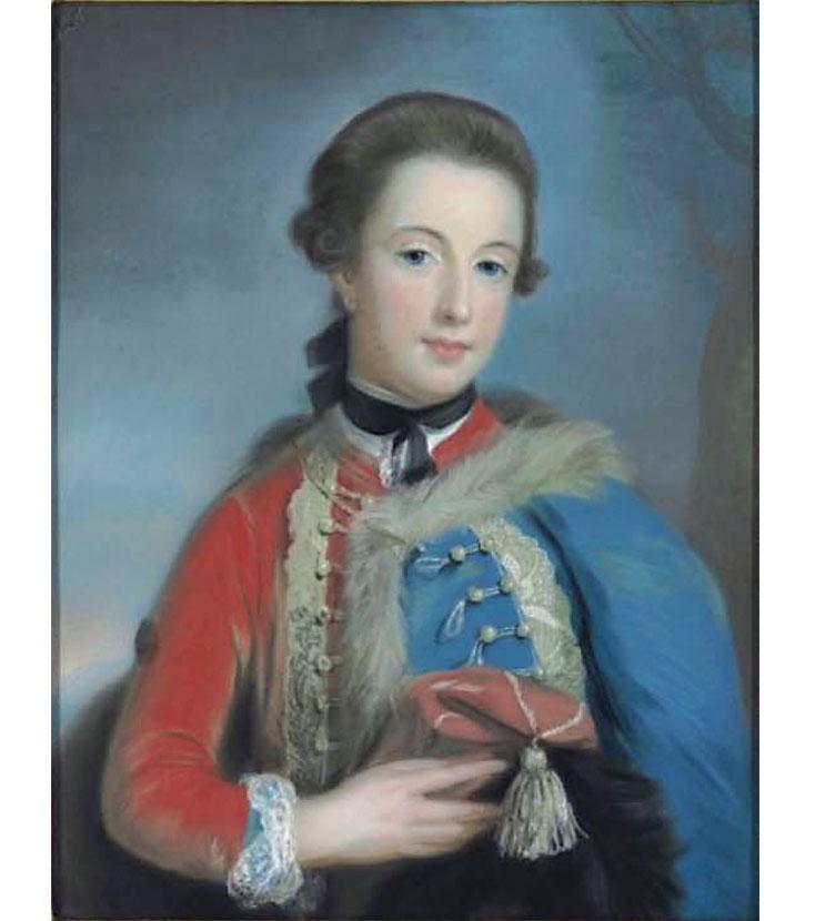Lady Isabella Stanhope par  Catherine Read