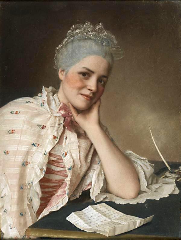 Mlle Jacquet Liotard pastel