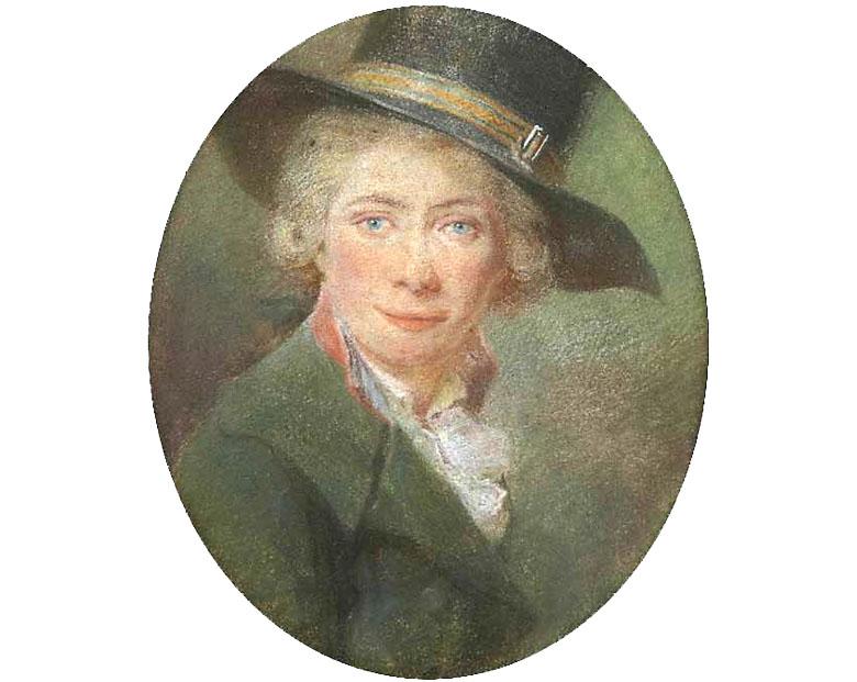 Antoine Berjon auto portrait