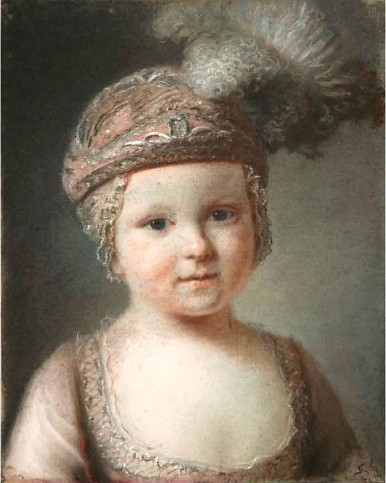 Le comte de Provence enfant par François Drouais