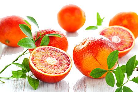 Oranges rouge