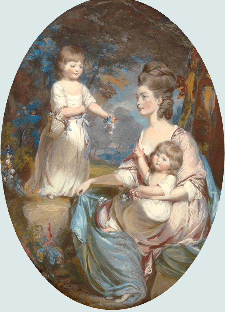Emma Colebrooke epouse Charles Bennet