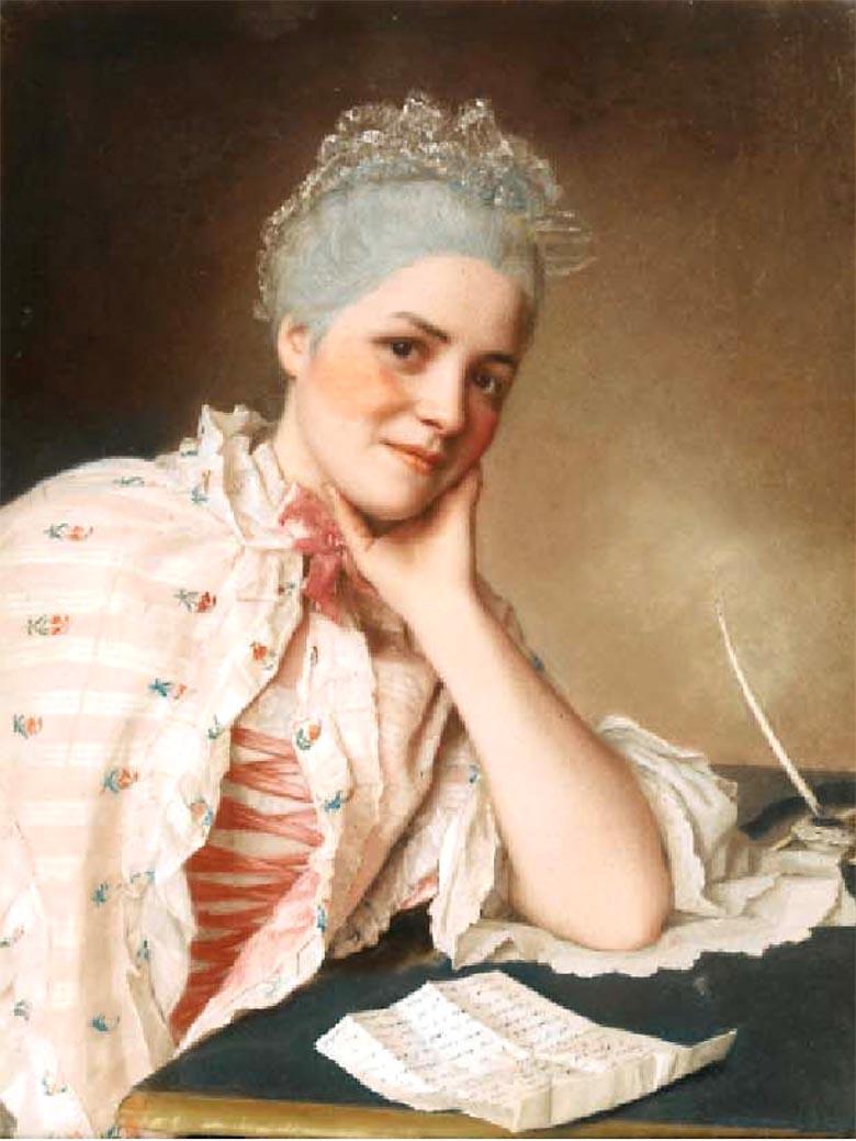 Louise Jacquet par Liotard