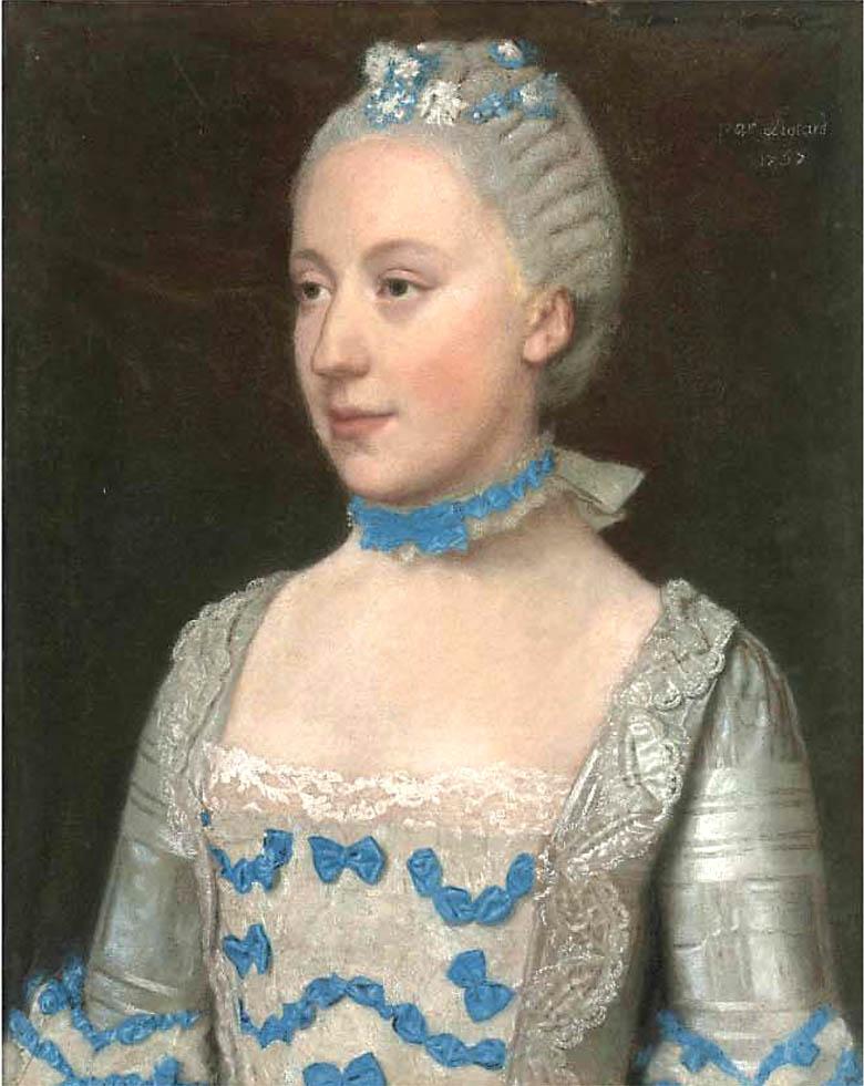 Margaretha Cornelia van de Poll par Liotard