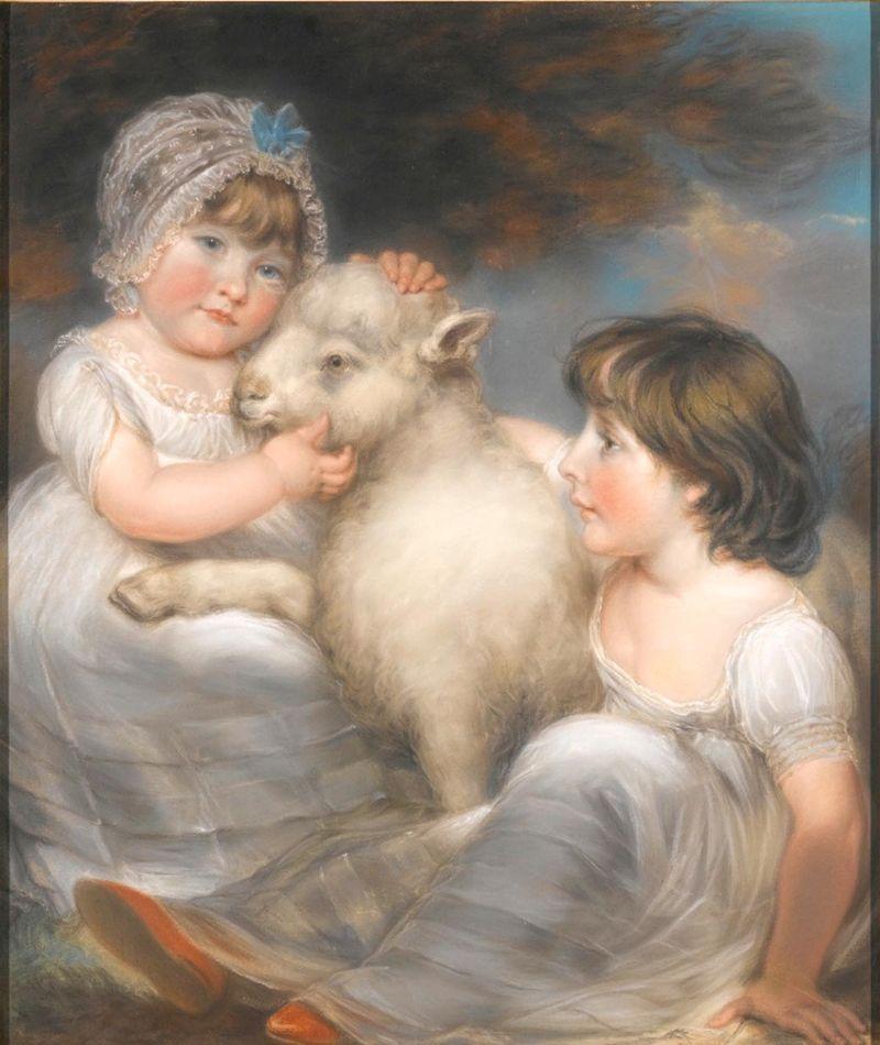 John Russell  Mlle E. et Mlle L. Earle