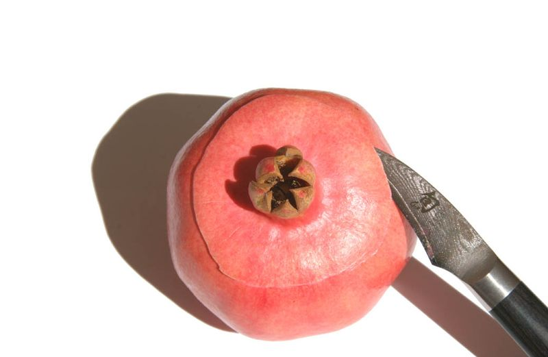 Opening pomegranate 2
