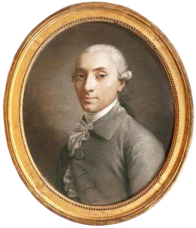 Charles François Jean Frédéric Godard d'Aucourt (1750-1792) par Simon Bernard Lenoir