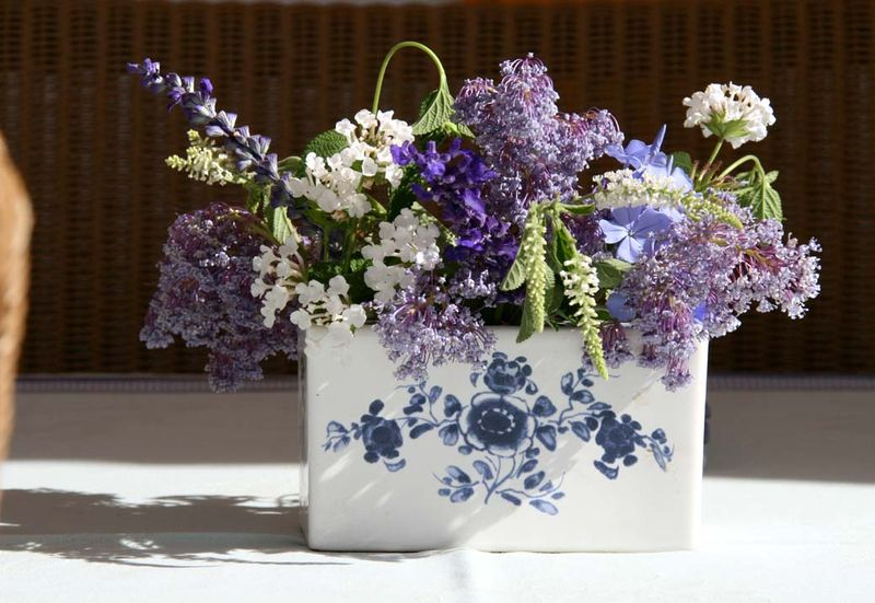Blue bouquet bleu