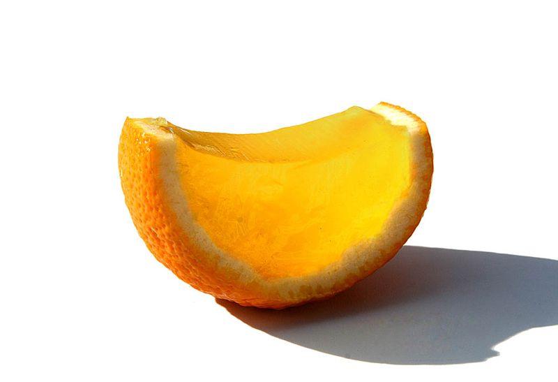 Gellied citrus agrume en gelée