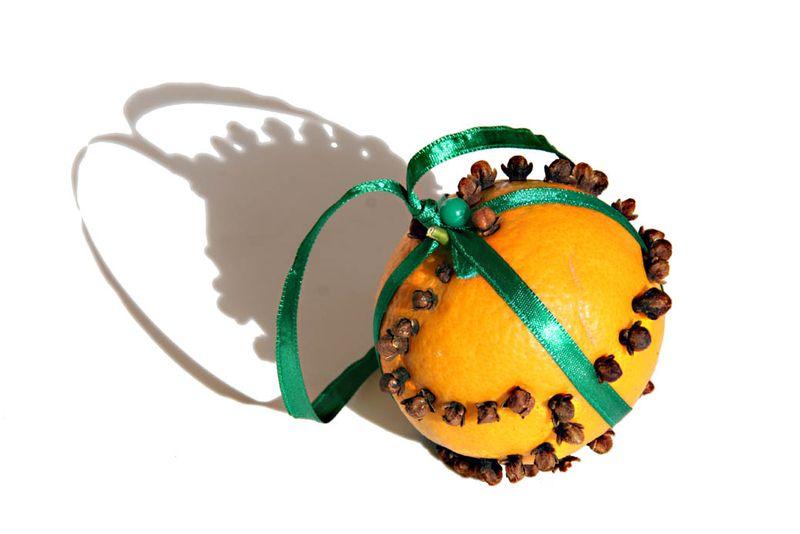 Orange clou de girofle