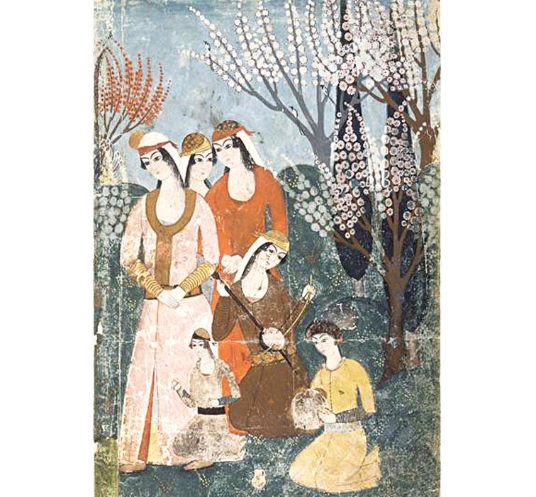 Concert dans un jardin vers 1625 Turquie Louvre