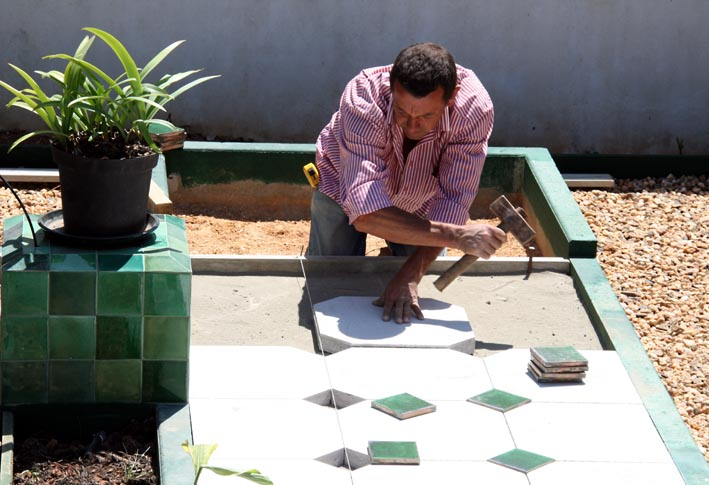 Carlos jardin vert