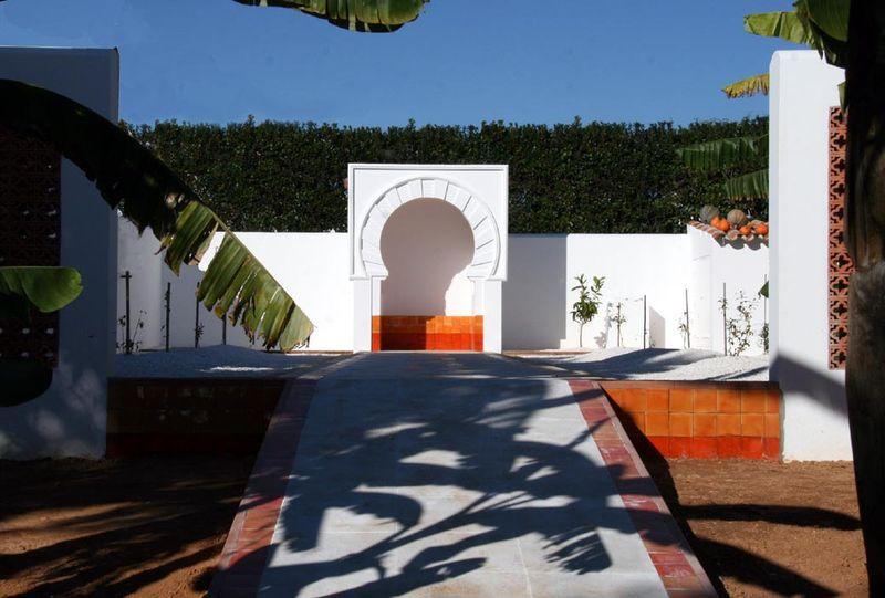 Umayyad garden orange
