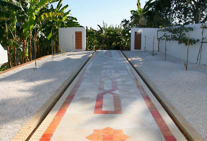 Omeyyade jardin