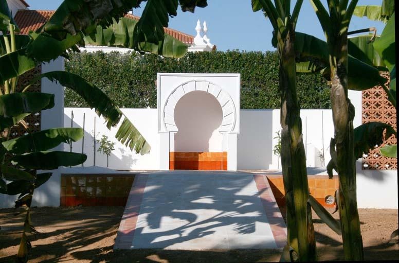 Jardin orange LOF oméyade