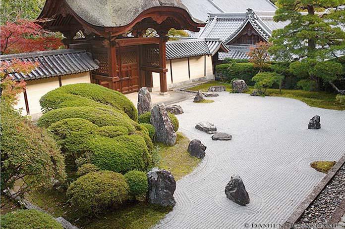Jardin clos Komyo-ji