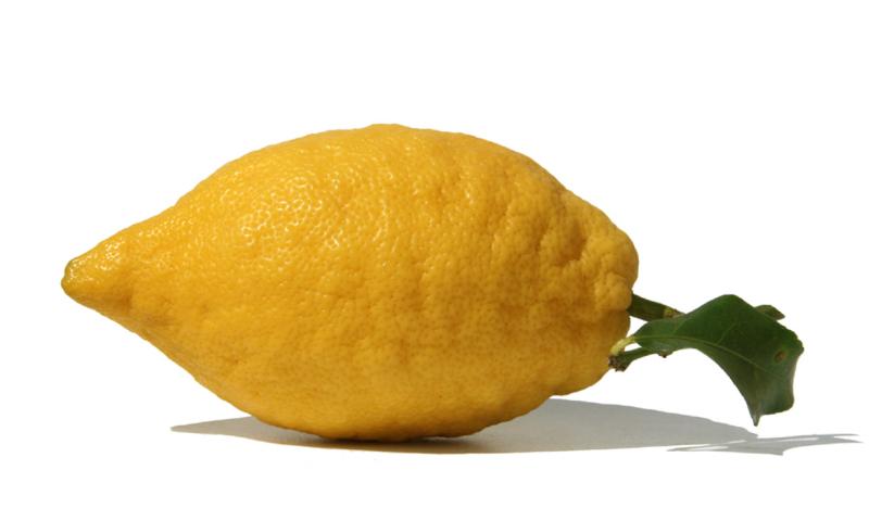 Limone sfusato amalfitano