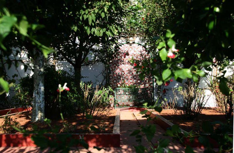 Jardin rouge